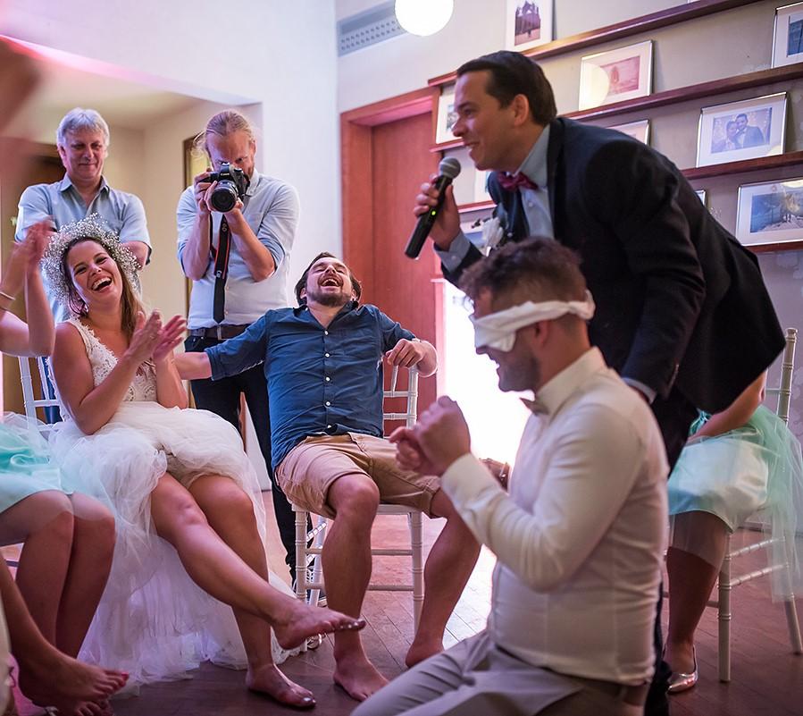 Esküvői játék fotó